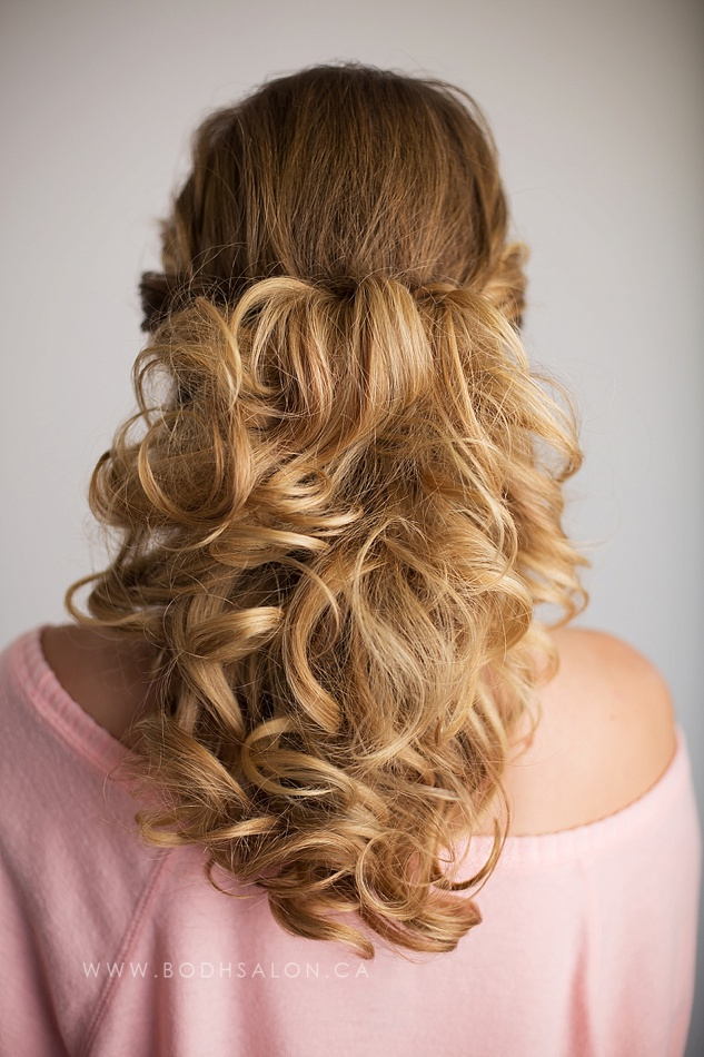 Waterfall Hairstyle - © Bodh Salon & Photography - Guelph hairstylist specializing in wedding hair and updos for special events - www.bodhsalon.ca